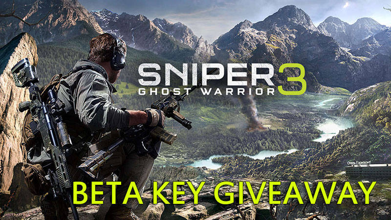 how to use beta key for sniper ghost warrior 3