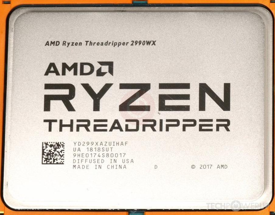 AMD Ryzen Threadripper 2990WX | TechPowerUp CPU Database