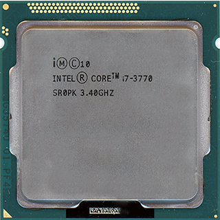 Intel Core i7-3770PhysicalPerformanceArchitectureCoresCacheFeaturesNotes