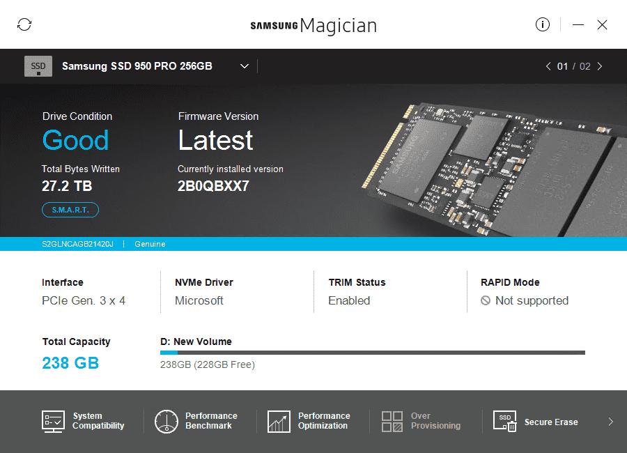 Download Samsung Magician SSD Software | TechPowerUp
