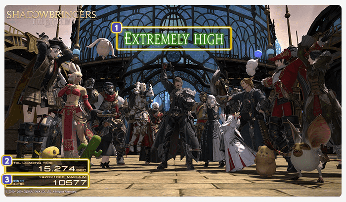 Download FINAL FANTASY XIV: Shadowbringers Benchmark | TechPowerUp