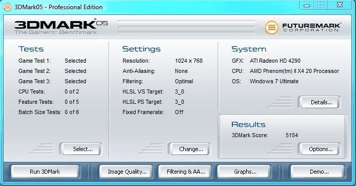 TÉLÉCHARGER 3DMARK 2005