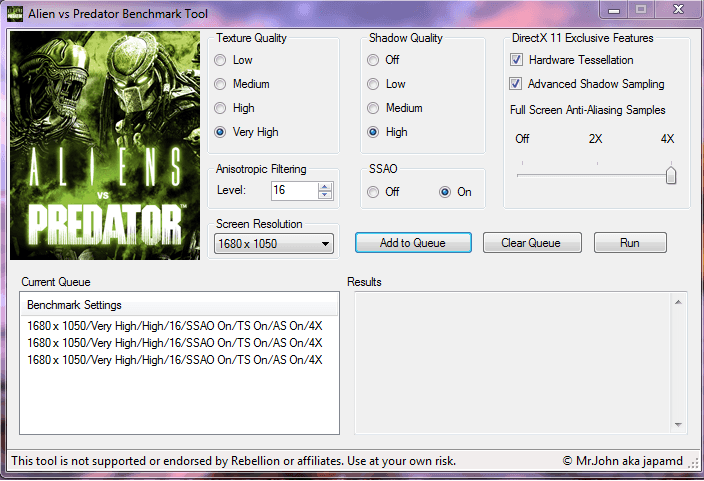 Download AVP Aliens vs  Predator DirectX 11 Benchmark | TechPowerUp