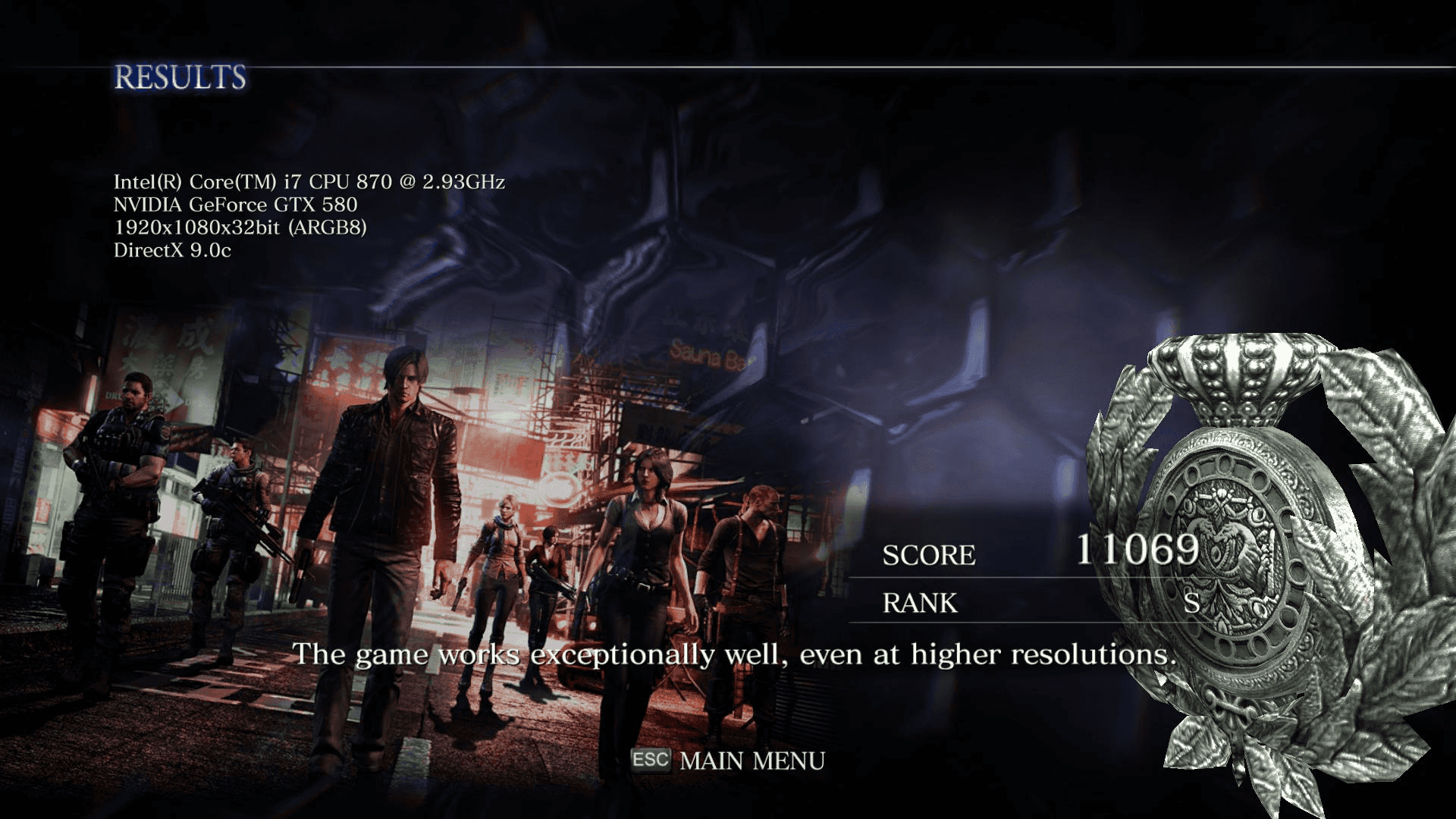 Download Resident Evil 6 Benchmark | TechPowerUp