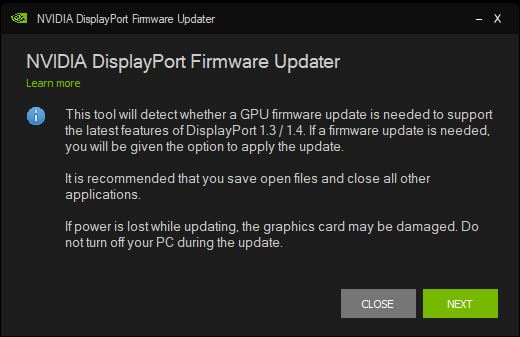 NVIDIA Has a DisplayPort Problem Which Only a BIOS Update