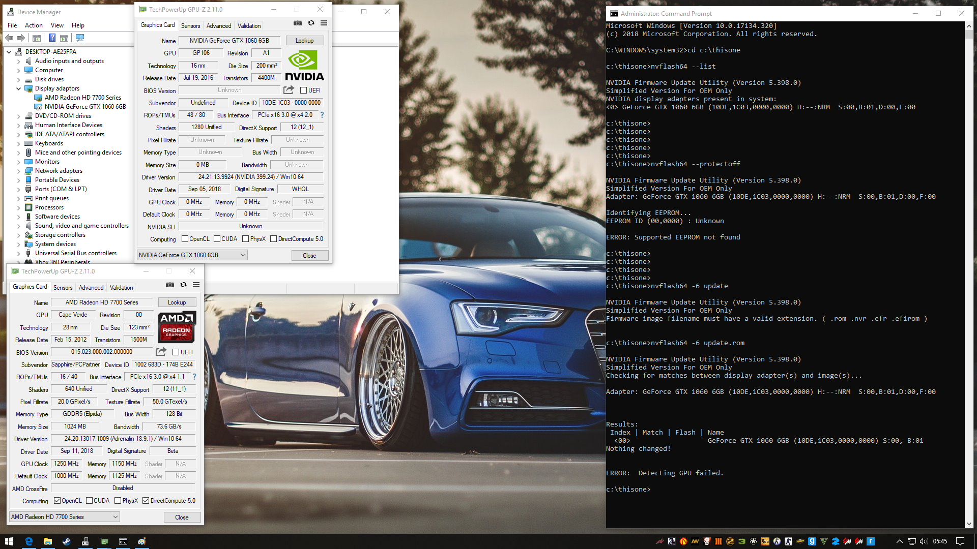 1060 6gb no display on boot 100% fan | TechPowerUp Forums
