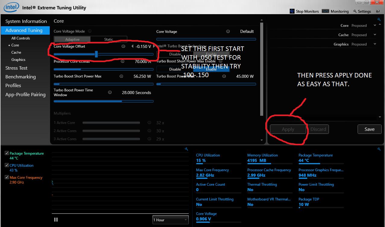 Please help me to properly undervolt my Nvidia GTX 960 M