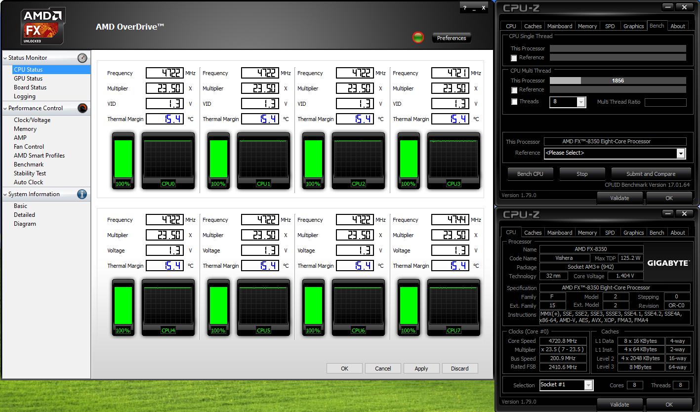Overclocking a new FX 8350 | TechPowerUp Forums