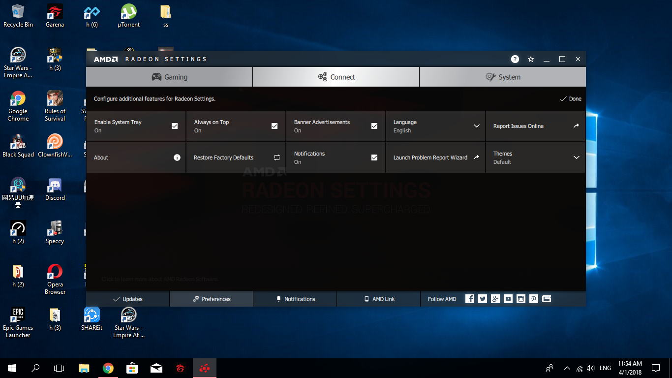My Radeon setting dont have Radeon additional setting | TechPowerUp
