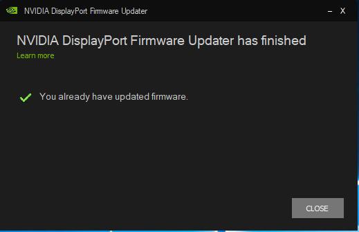Displayport Black Screen Flicker
