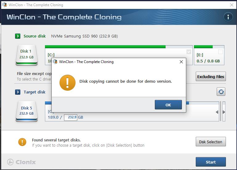 Samsung Data migration failed | TechPowerUp Forums