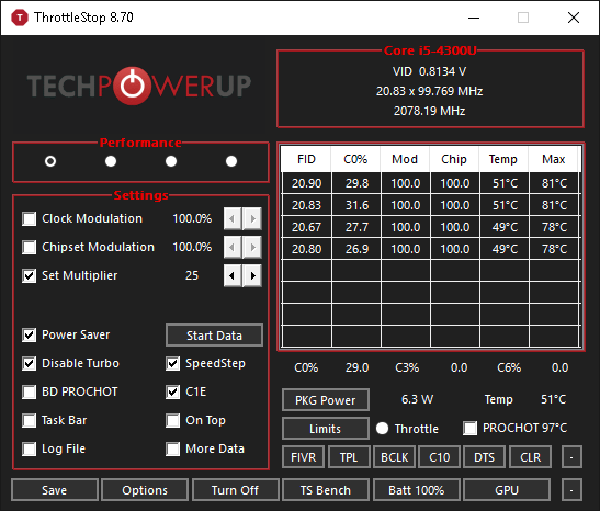 ThrottleStop how to remove Throttle flag | TechPowerUp Forums