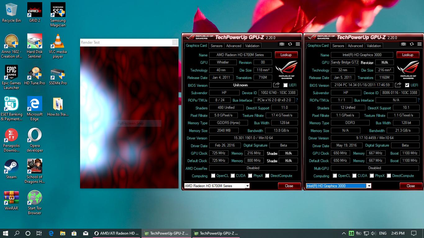 AMD/ATI Radeon HD 6770M wont show bios in GPU-Z and wont be