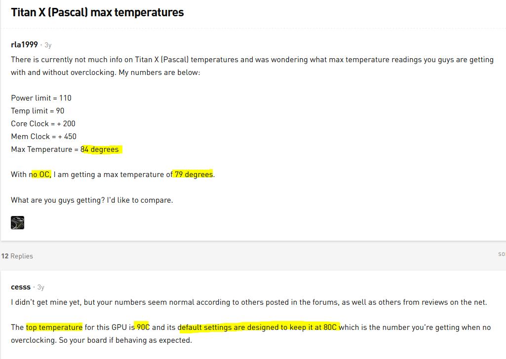 110°C Hotspot Temps