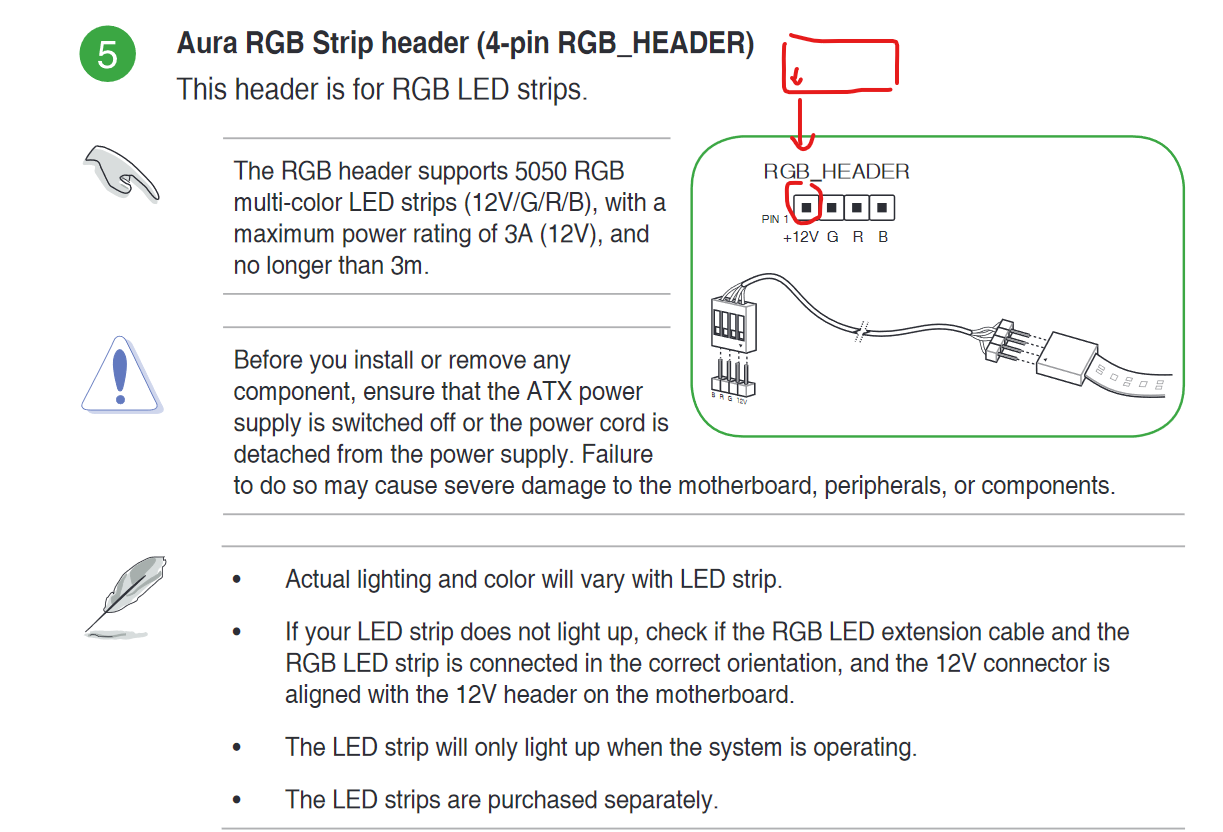 Single RGB fan connection confusion    | TechPowerUp Forums