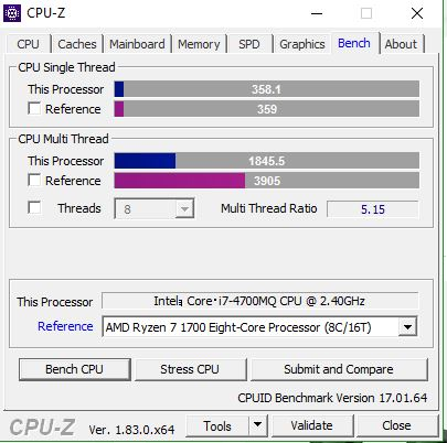 Share your CPUZ Benchmarks! | Page 45 | TechPowerUp Forums