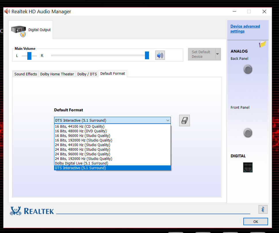realtek high definition audio - unlocked drivers