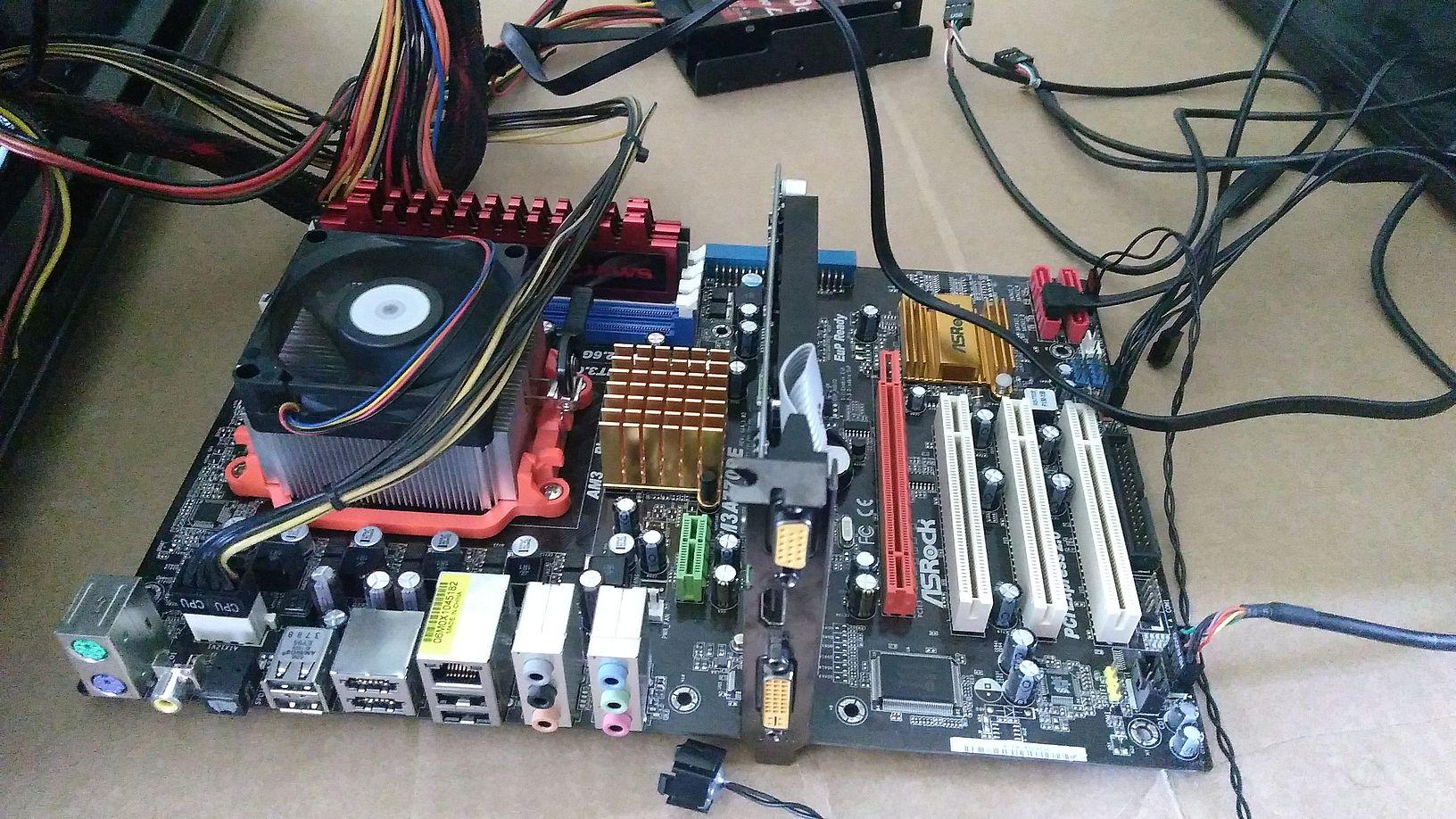 old pc, new heatsink, PC wont POST | TechPowerUp Forums