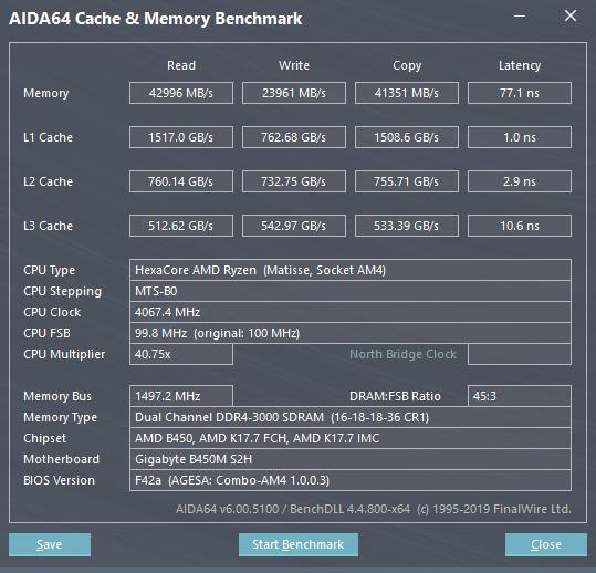 New R5 3600 build, memory write speed slow?? | TechPowerUp