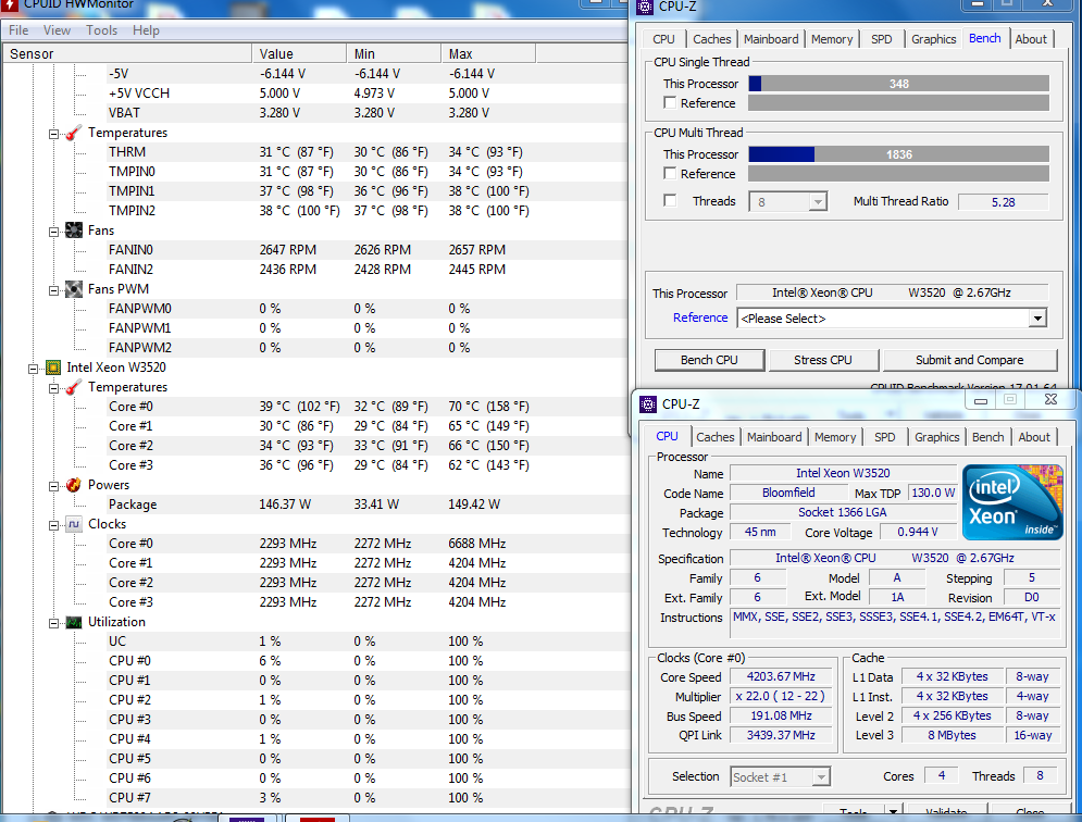 Share your CPUZ Benchmarks! | Page 35 | TechPowerUp Forums