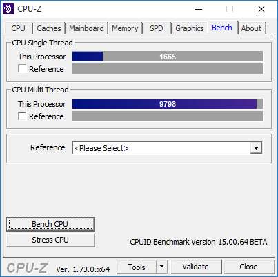 share your cpuz benchmarks techpowerup forums