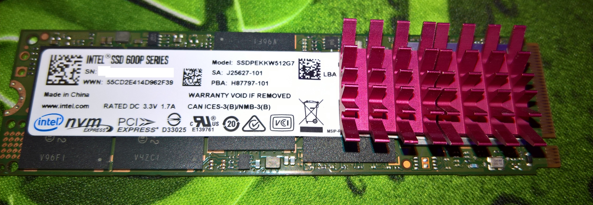 Intel 600P going bad? | TechPowerUp Forums
