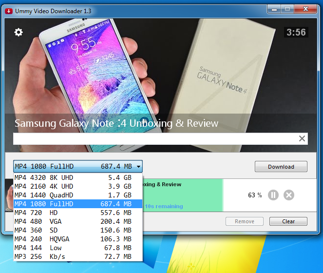 How to download youtube videos in 1080P or maximum