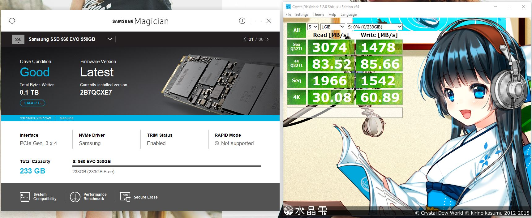 960 Evo Wont Boot After Cloning Techpowerup Forums Samsung Ssd Nvme M2 250gb Gpt With Samsungs Driver Mbr