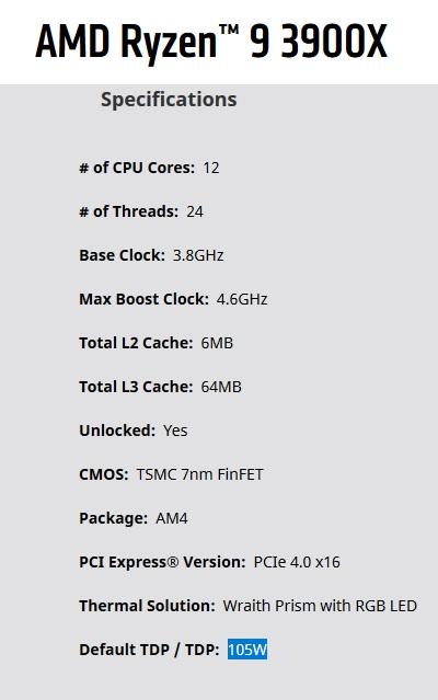 AMD Ryzen 9 3900X | Page 3 | TechPowerUp Forums