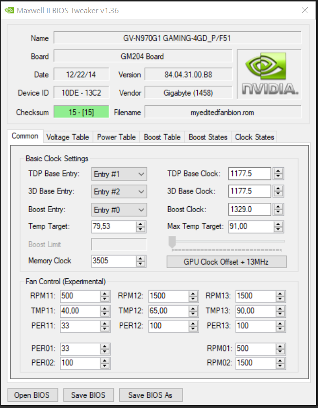 GTX 970 Bios problem | TechPowerUp Forums