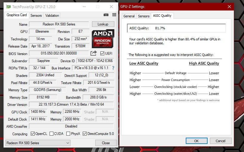 xfx rx480 8gb flashed to saphire rx580 | Page 6