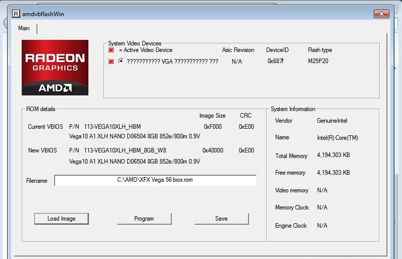 XFX RX Vega 56 Double Edition bios | TechPowerUp Forums