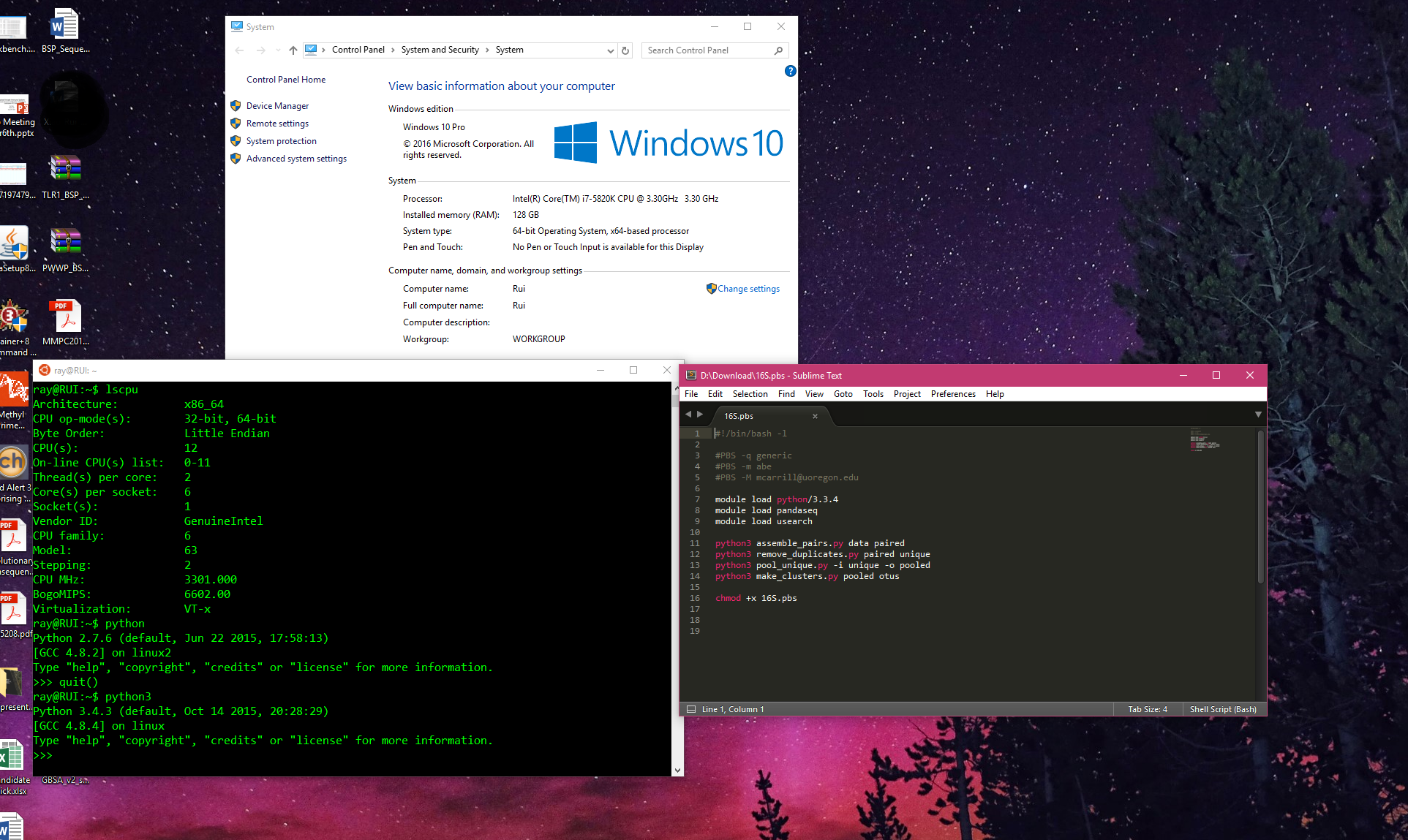 Finally, Native BASH support in Windows 10! | TechPowerUp Forums
