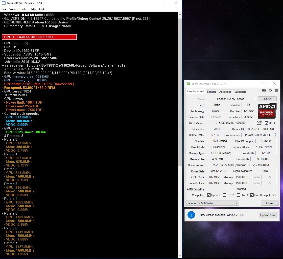 AMD Request o:? for an Unlock the shaders bios / more information