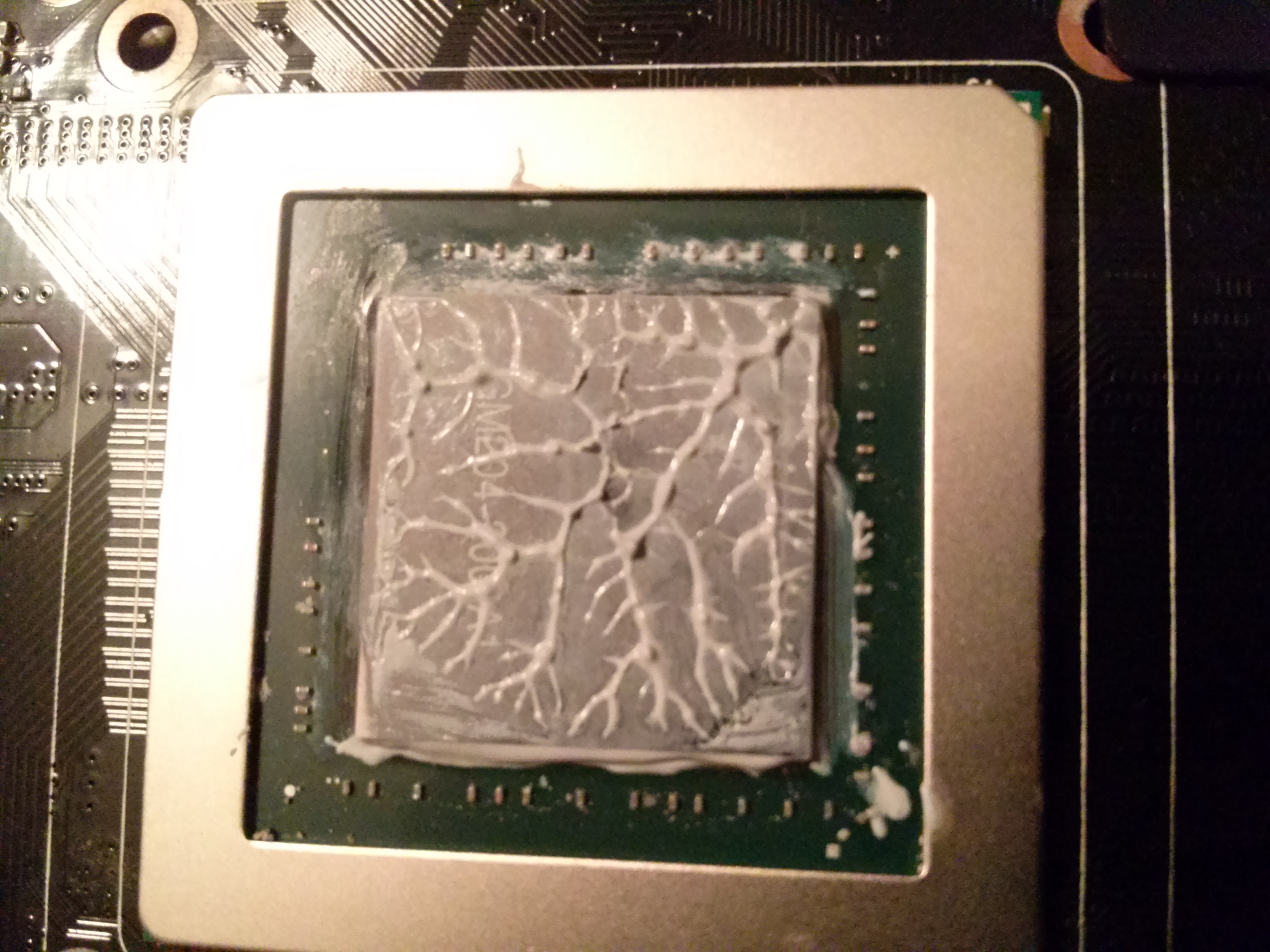GPU applied Kyronaut now 3C hotter   | TechPowerUp Forums