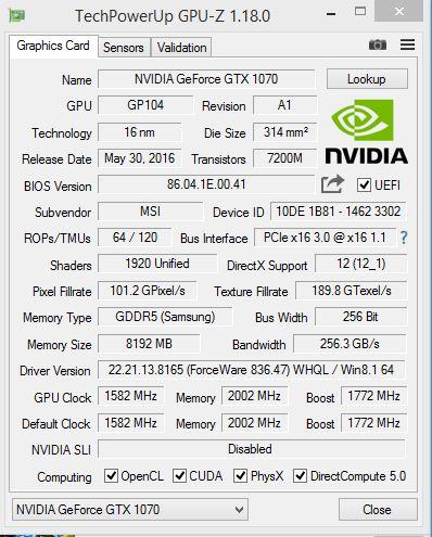 """ForceWare """"836.47""""!?...   Tech..."""