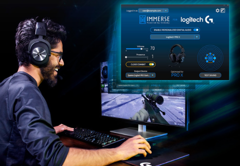 Mickey: Logitech G Announces Support for Personalized Spatial Audio from Embody [IMG]