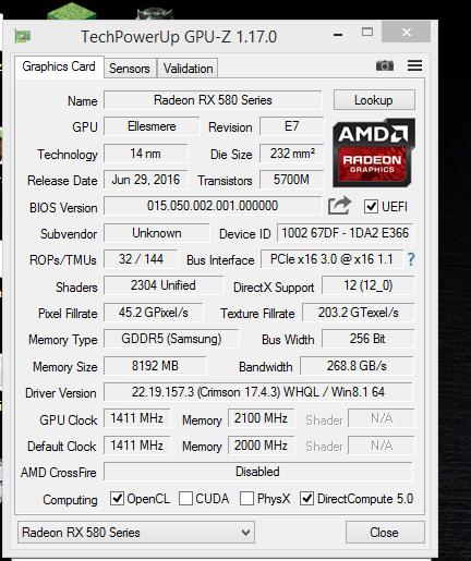 The Radeon RX 480 can be flashed to RX 580 | KitGuru