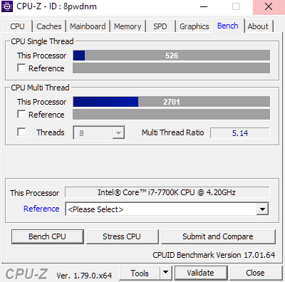 Share your CPUZ Benchmarks!   Page 34   TechPowerUp Forums