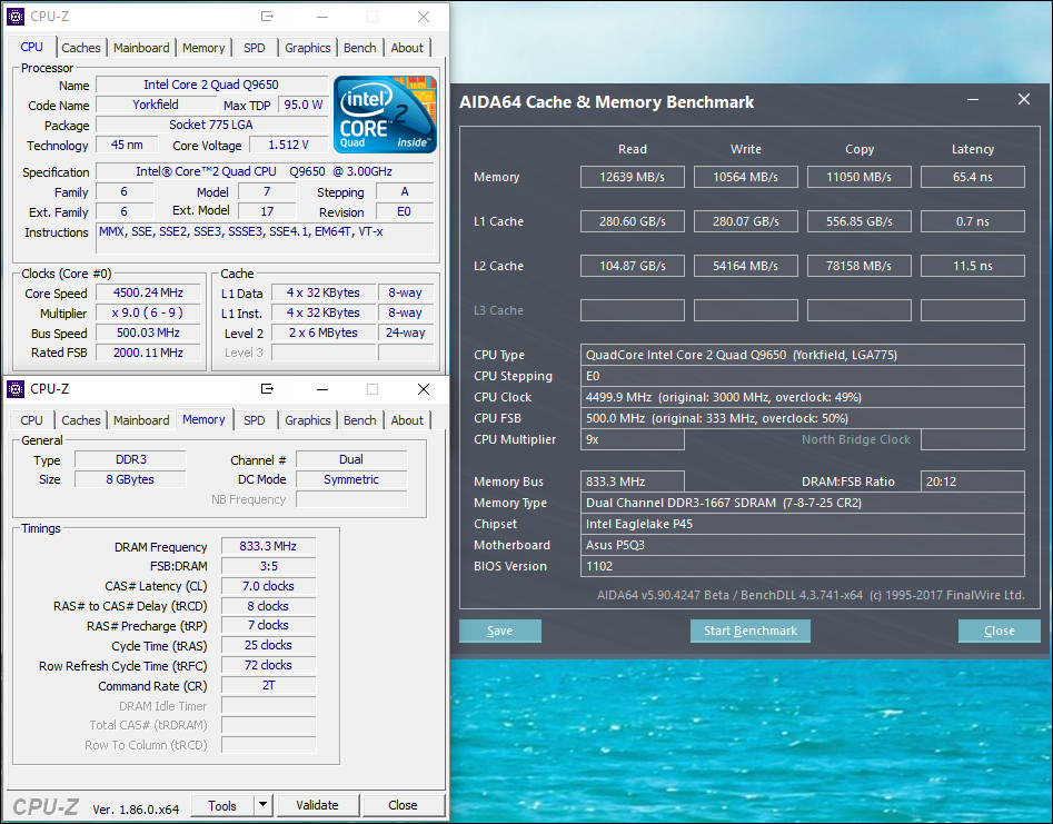 Need for speed with an Intel Core 2 Quad Q9650 CPU   TechPowerUp Forums