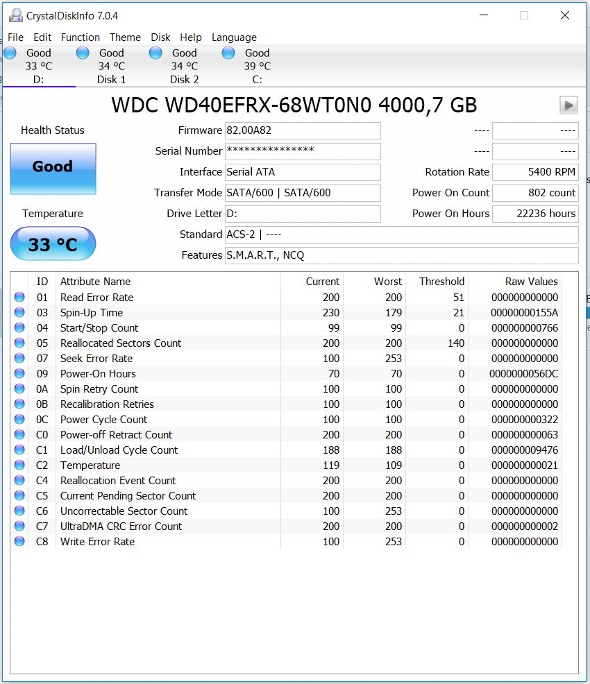 Diagnosing possible early stage drive failure   TechPowerUp Forums