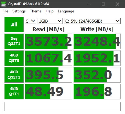 Post your CrystalDiskMark speeds | Page 4 | TechPowerUp Forums