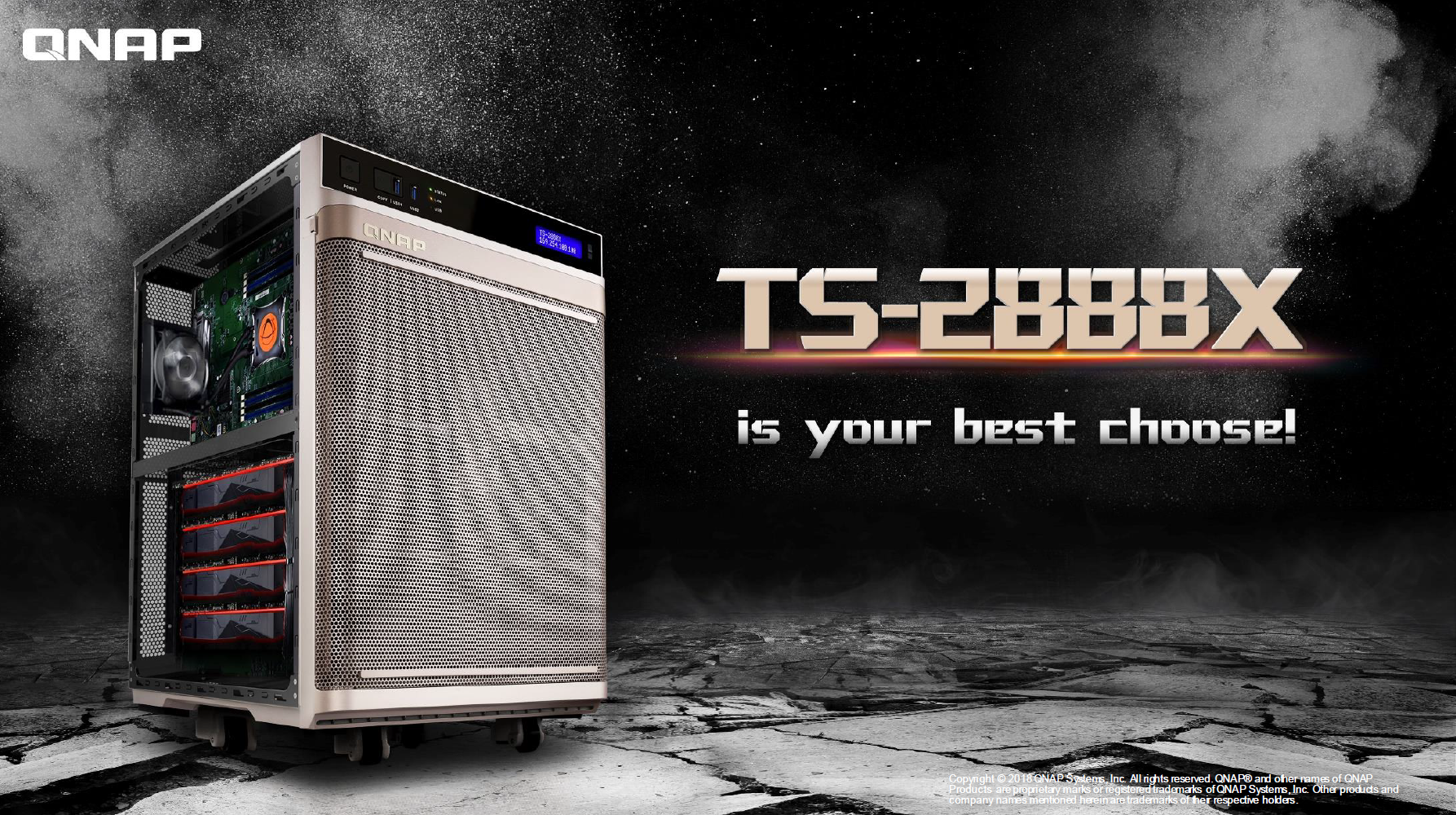 QNAP Introduces the TS-2888X AI-ready NAS | TechPowerUp Forums