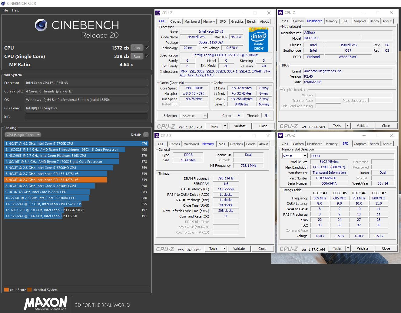Cinebench R20 - Xeon E3-1275L v3.png