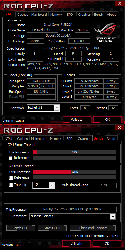 Share your CPUZ Benchmarks! | Page 56 | TechPowerUp Forums