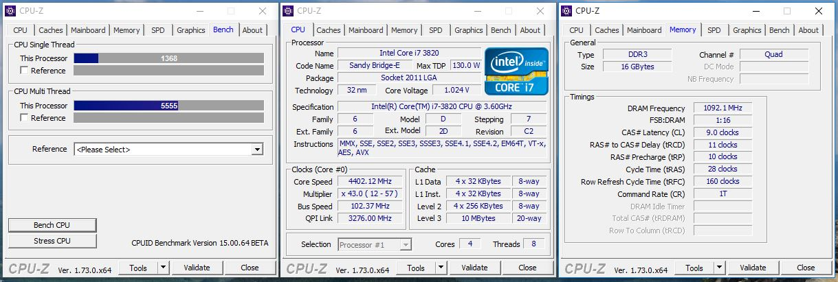 Asus P9X79 LE CPU-Z Drivers for Windows 10