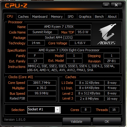 CPU-Z Ryzen 7 1700X @ 3.9GHz.jpg
