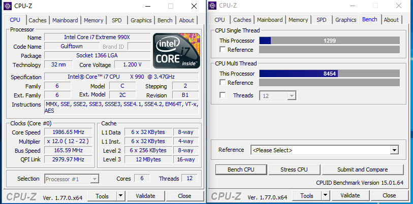 Share your CPUZ Benchmarks! | Page 25 | TechPowerUp Forums