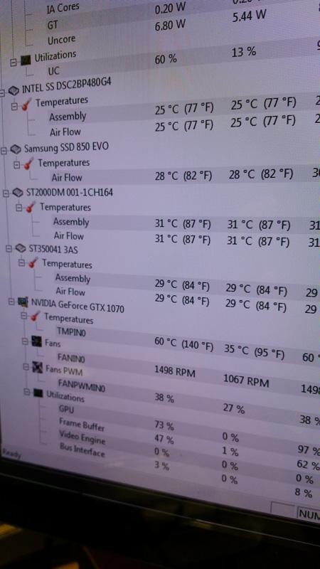 i7 2600 + 1070 @ 1080P avg 50FPS in GTA V normal