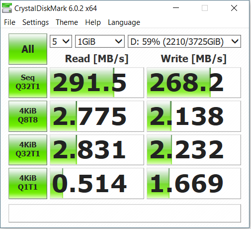 Post your CrystalDiskMark speeds | TechPowerUp Forums